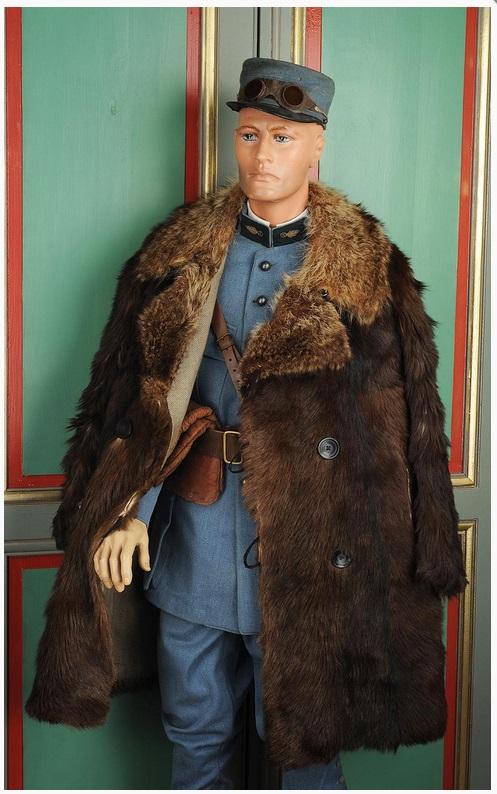 Capitaine Brocard commandant de l'escadrille des cigognes 1916 1/32 19021904030423469216125984