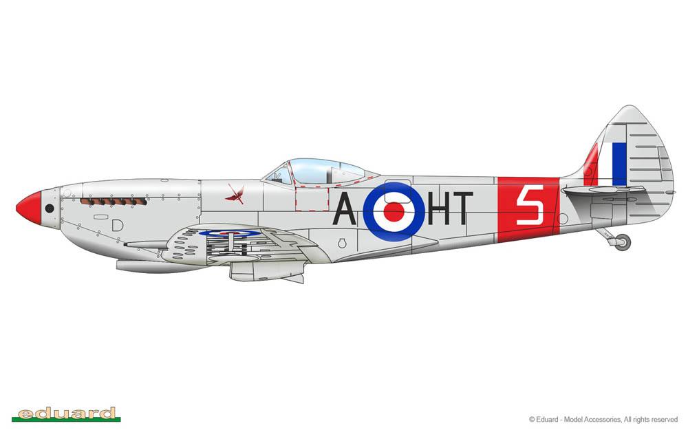 Spitfire Mk. XVI Bubbletop ÷ Eduard 8285 ÷ 1/48 1902191021315585016126620