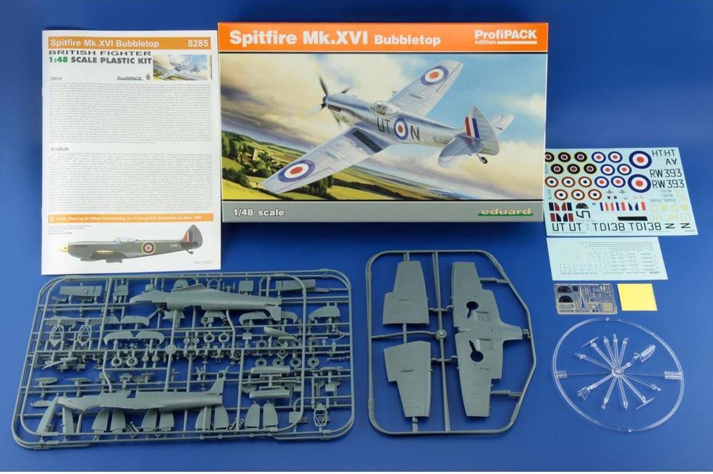 Spitfire Mk. XVI Bubbletop ÷ Eduard 8285 ÷ 1/48 1902191021335585016126621