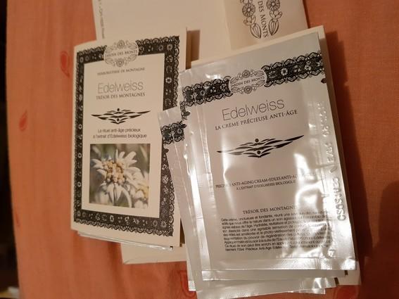 echantillon creme edelweiss