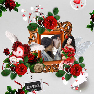 kittyscrap_my_love_is_a_red_rose_pageFrisette