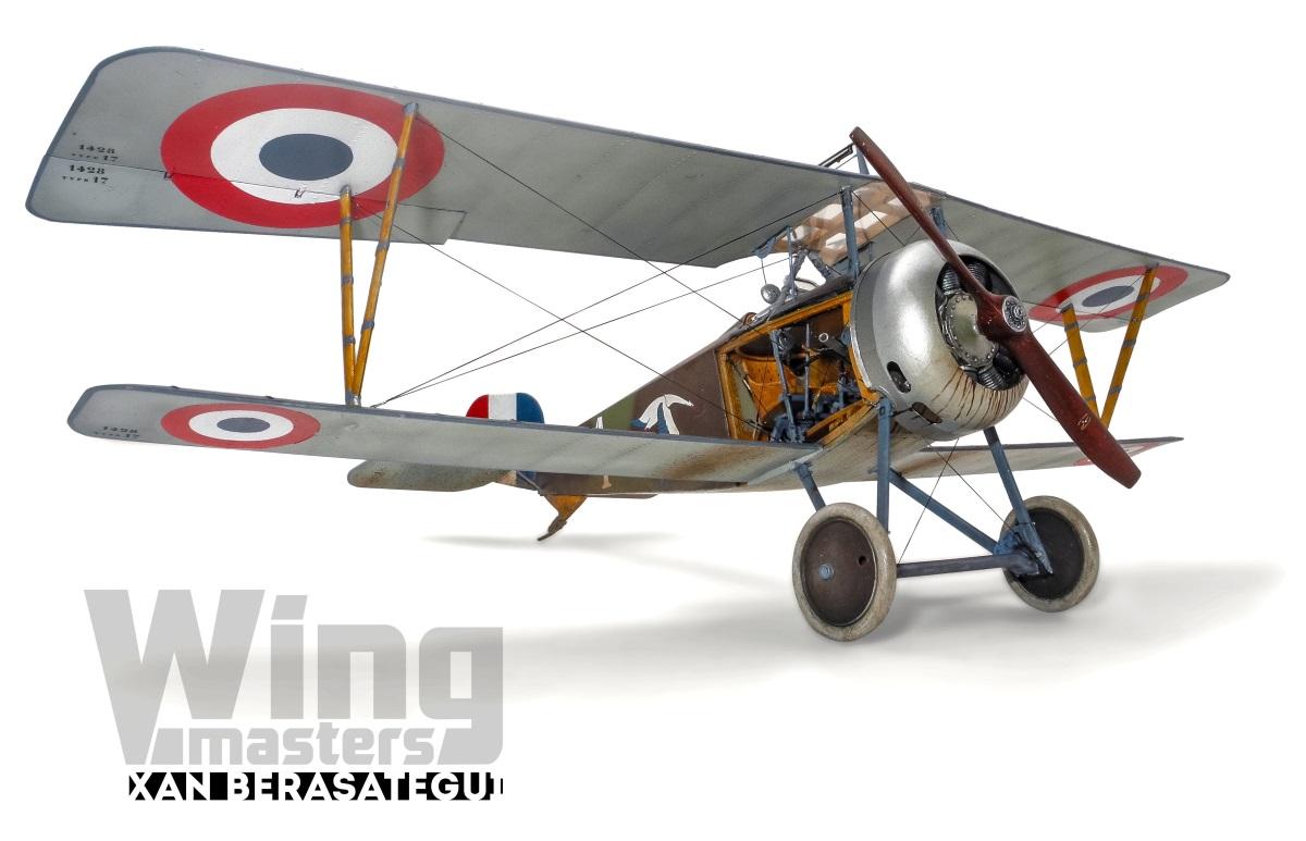 Capitaine Brocard commandant de l'escadrille des cigognes 1916 1/32 19022108135523469216128394
