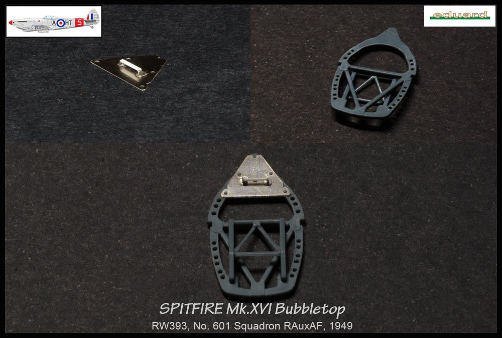 Spitfire Mk. XVI Bubbletop ÷ Eduard 8285 ÷ 1/48 1902240432575585016133647