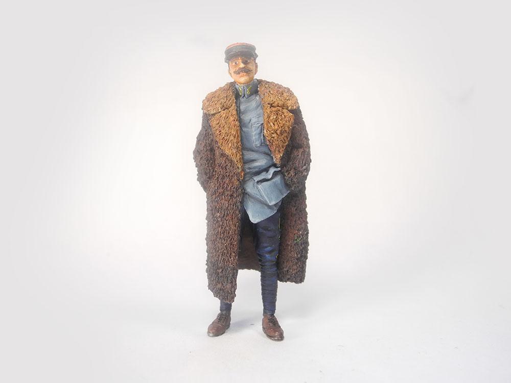 Capitaine Brocard commandant de l'escadrille des cigognes 1916 1/32 19022701571823469216137398