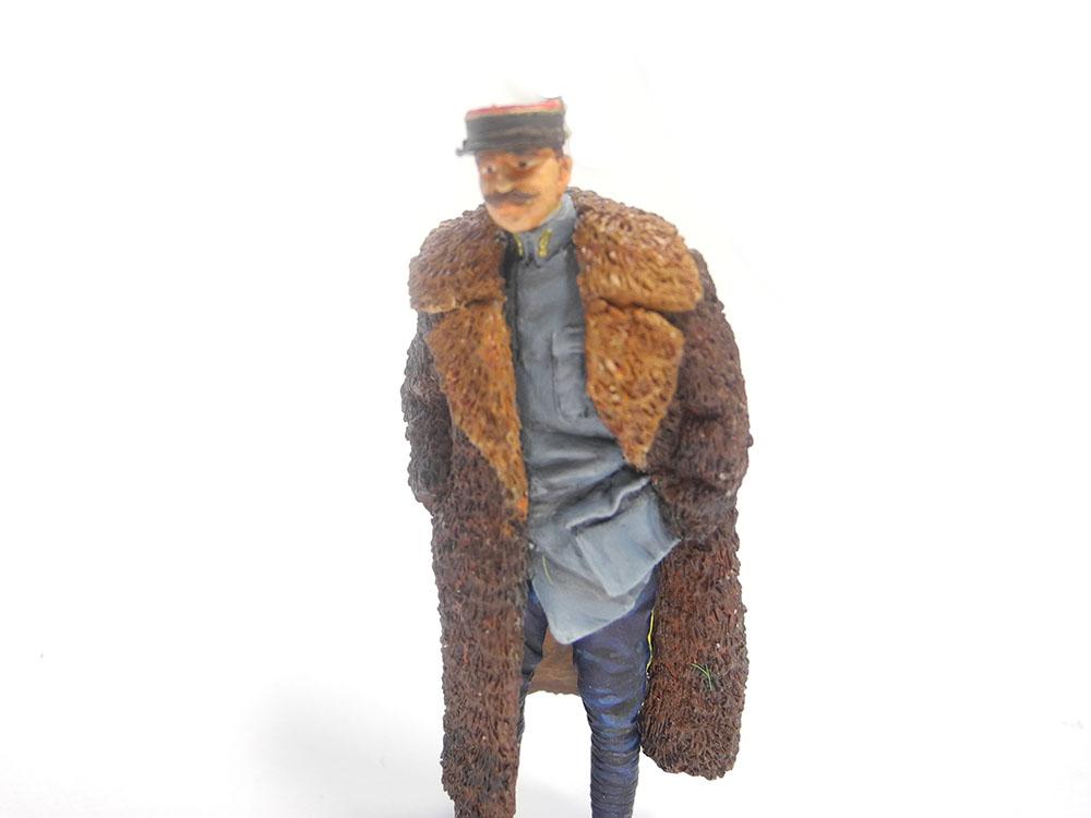 Capitaine Brocard commandant de l'escadrille des cigognes 1916 1/32 19022701571823469216137399