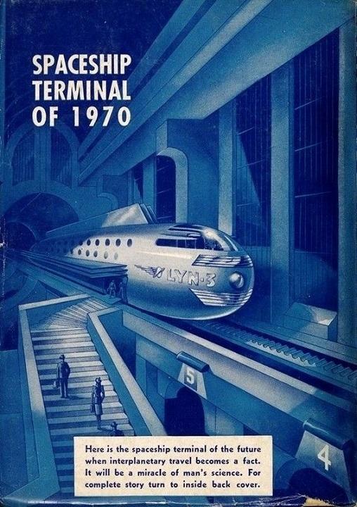 RÉTROFUTURISME - Spaceship terminal of 1970 dans Rétrofuturisme 19022711481515263616137108