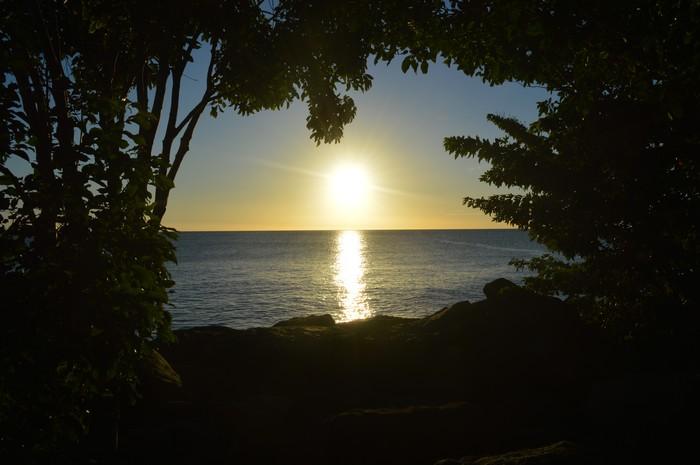 La plage le soir dans Amour physique 19030102252824502116140937