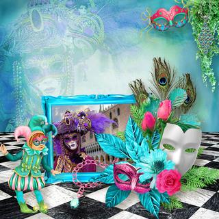 kittyscrap_CarnavalInVenice_pageTinekeReinders