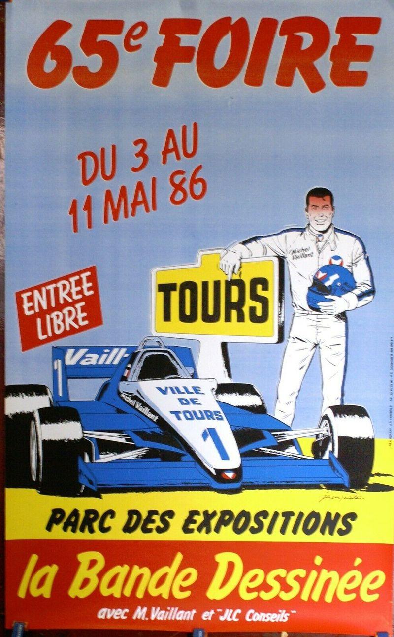 Foire de Tours 1986 59x96cm