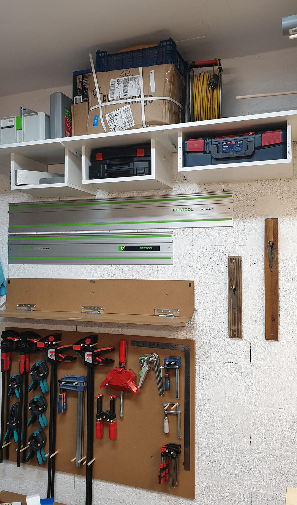 Petit établi pour petit garage... La suite, meuble systainer Festool 19031709535724320016162199