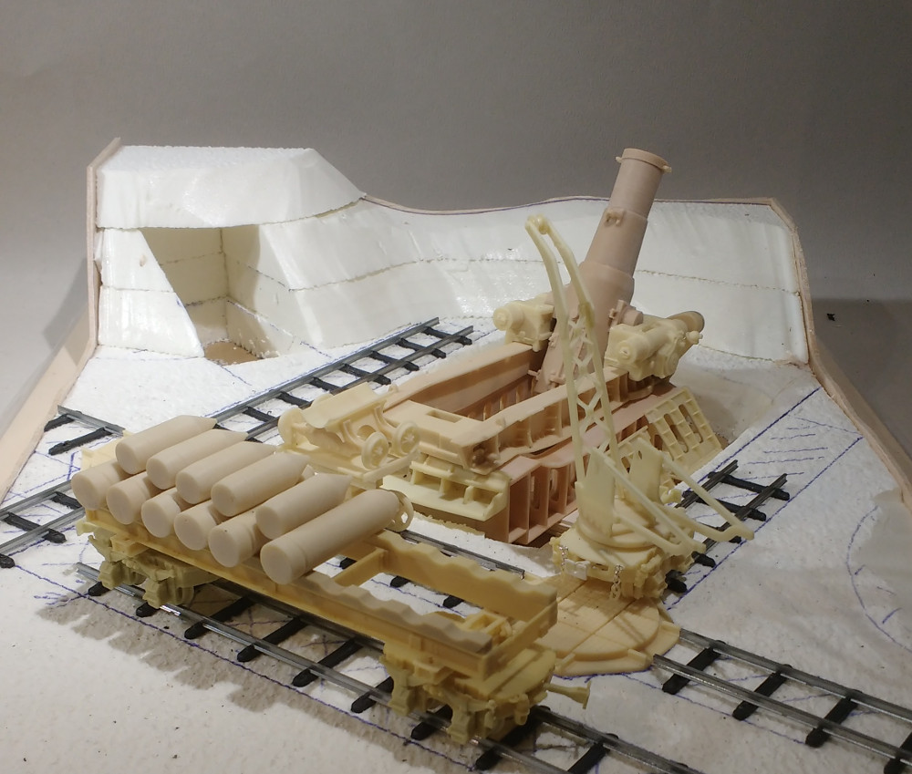 Le mortier de 370 Filloux (Blitz 1/35) 19031710143123099316163215