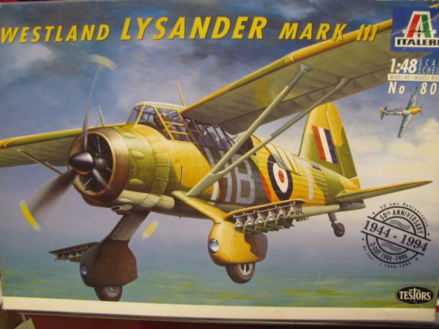 Westland Lysander MkIII Italeri-Testor 1/48 19031903502823669016165515