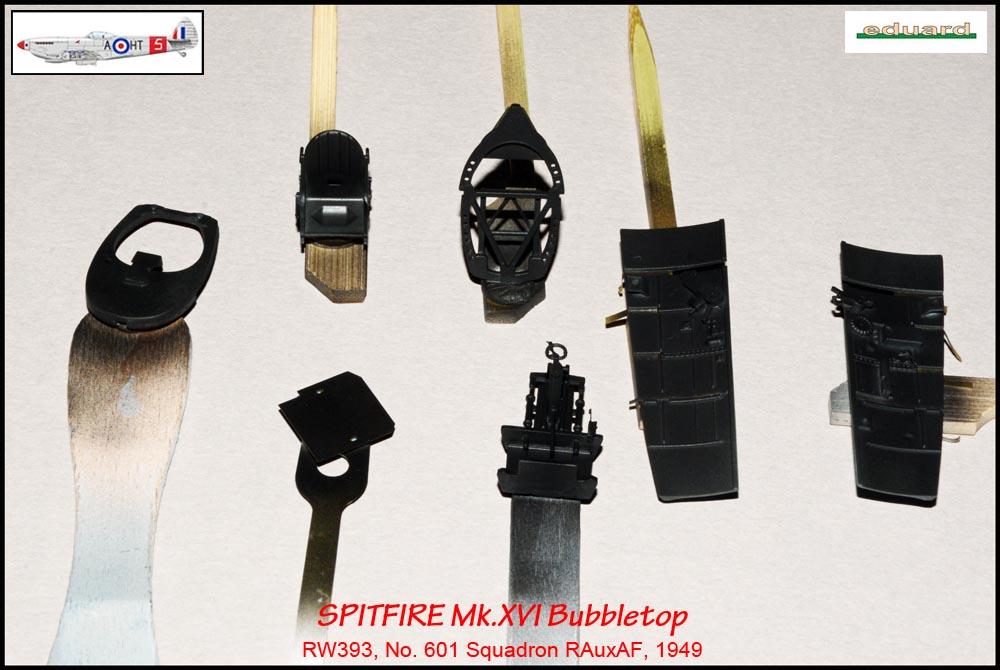 Spitfire Mk. XVI Bubbletop ÷ Eduard 8285 ÷ 1/48 1903190513145585016165678