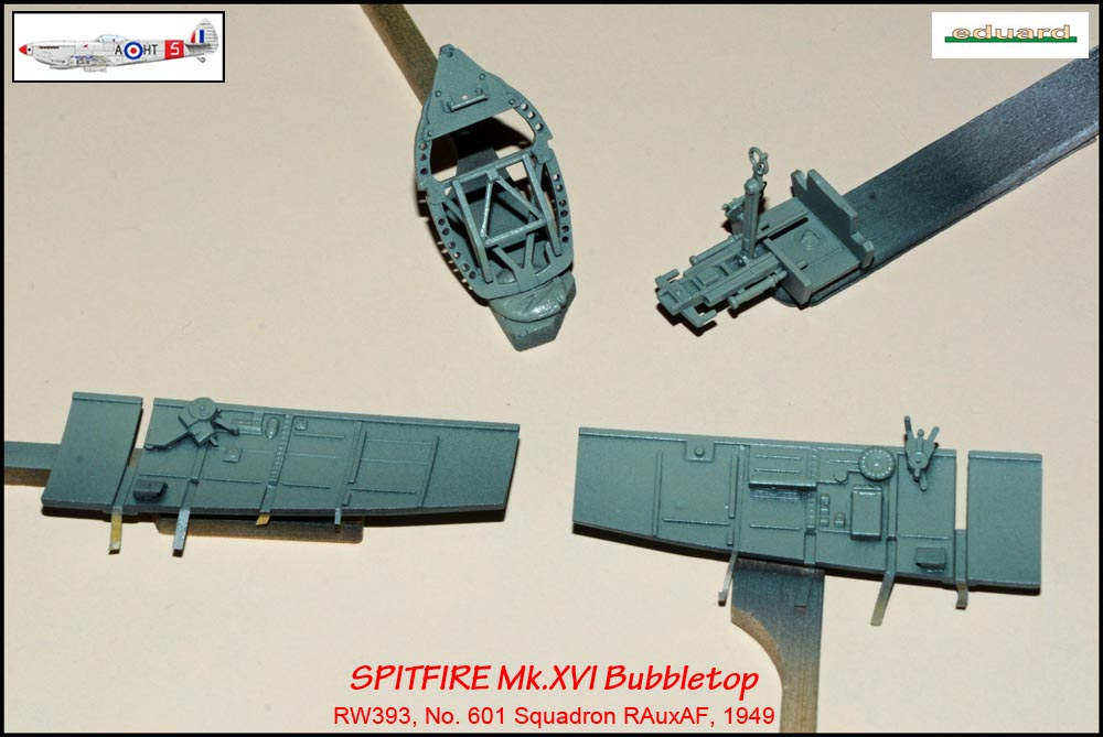 Spitfire Mk. XVI Bubbletop ÷ Eduard 8285 ÷ 1/48 1903190513165585016165680