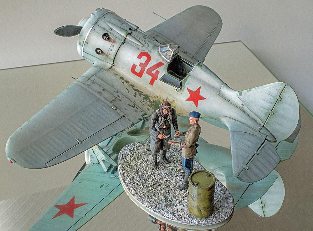 Figurines de pilotes et de mécaniciens ww2 + maquettes d'avions 19032606312914703416176123