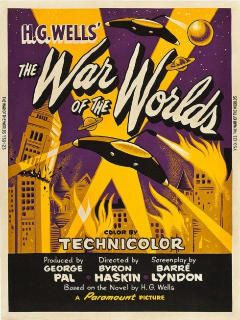POSTEROÏDE - The War of the Worlds dans Cineteek 19032711545315263616176797
