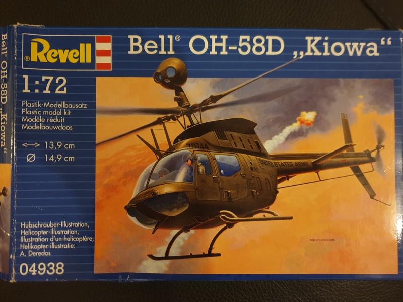 "Bell OH-58D ""Kiowa"" - Revell - 1/72 19040609301424268716190115"