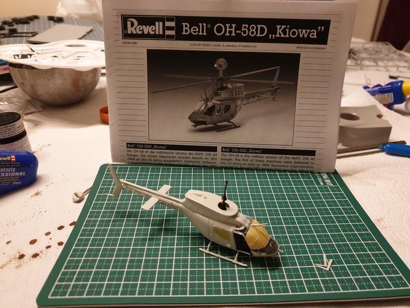"Bell OH-58D ""Kiowa"" - Revell - 1/72 19040609301524268716190116"