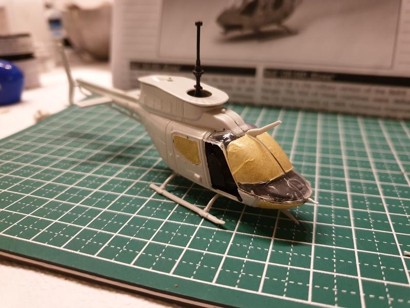 "Bell OH-58D ""Kiowa"" - Revell - 1/72 19040609301624268716190117"