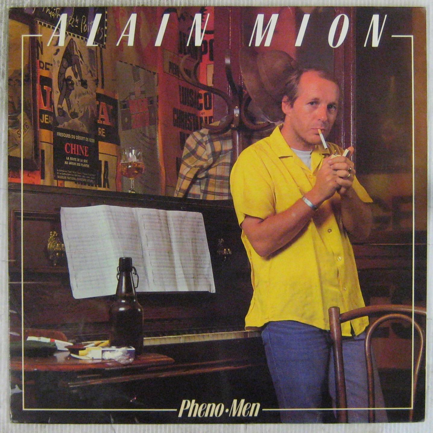 MION ALAIN (CORTEX) - Phéno Men - LP