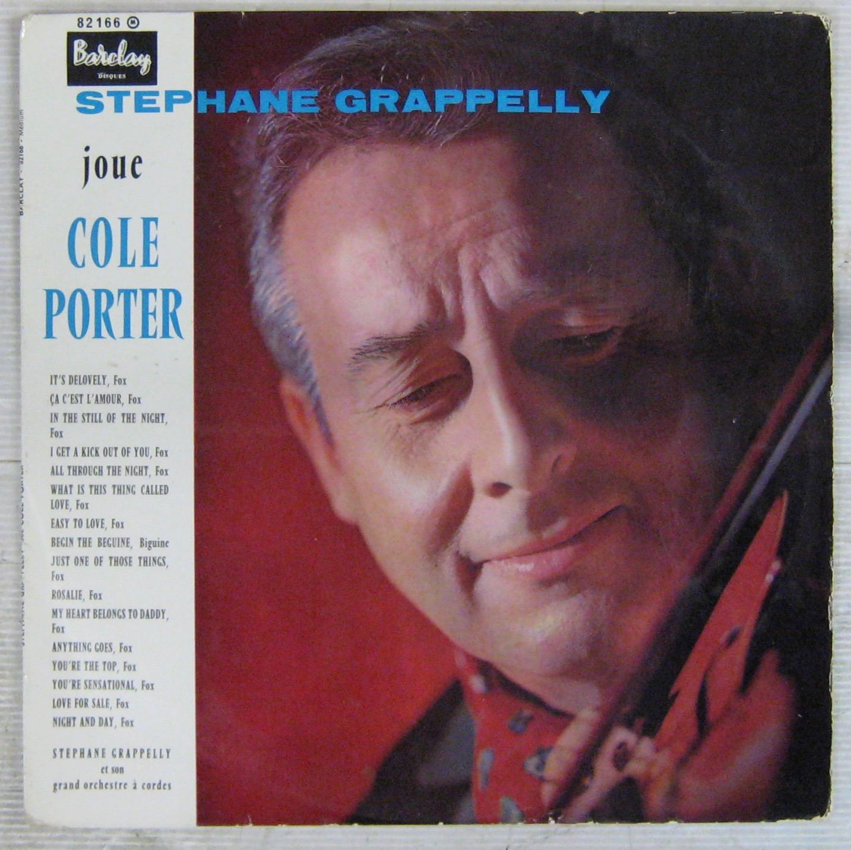 GRAPELLI STÉPHANE - Joue Cole Porter - LP
