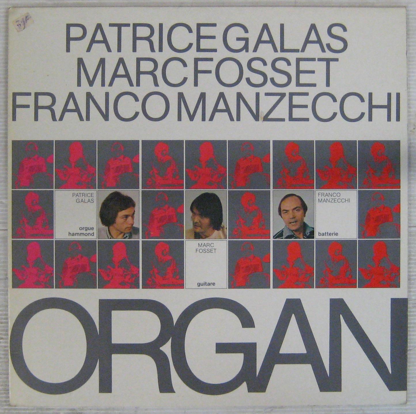 GALAS FOSSET MANZECCHI - Organ - LP