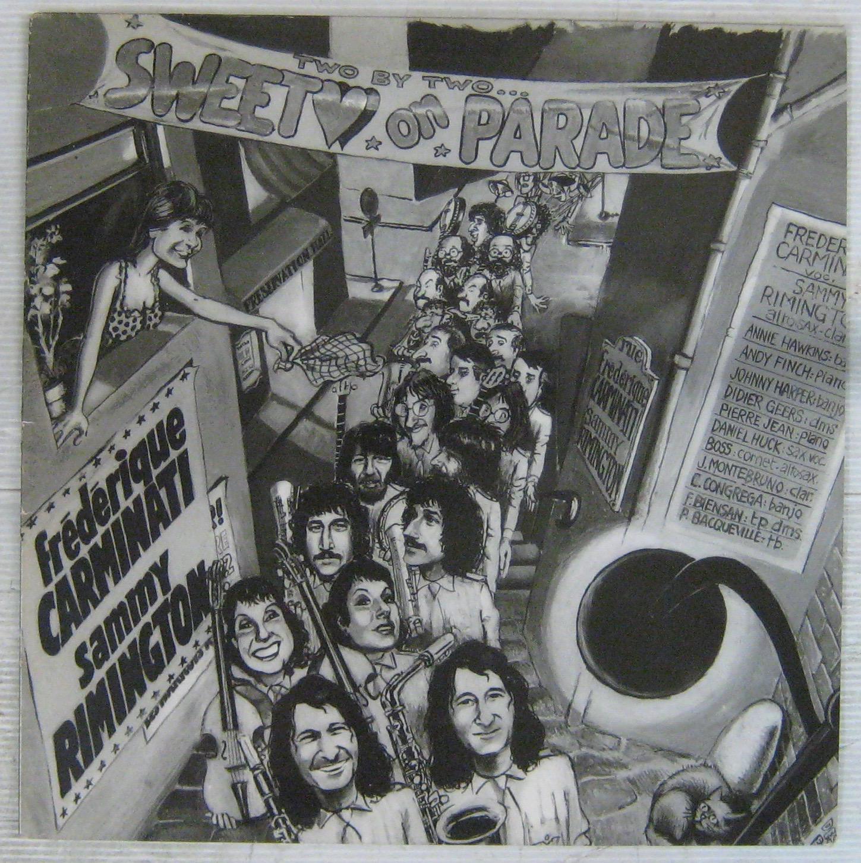 SAMMY RIMINGTON BAND ( FRÉDÉRIQUE CARMINATI) - Sweethearts parade - LP