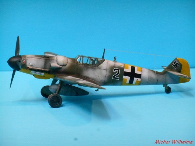 MESSERSCHMITT 109  G.6 az model. 1904090654285625616194267