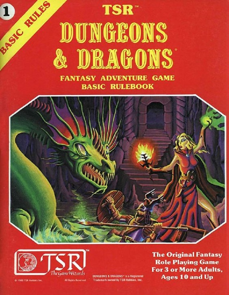 DUNGEONS & DRAGONS - Fantasy Adventure Game Basic Rulebook dans JEU 19041108050815263616195842