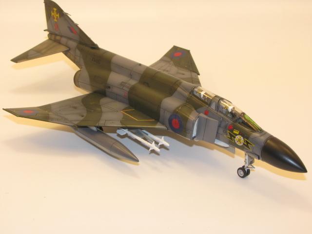 Mc Donnell-Douglas F-4M (FGR-2) Phantom II Matchbox 1/72 19041109442623669016196701