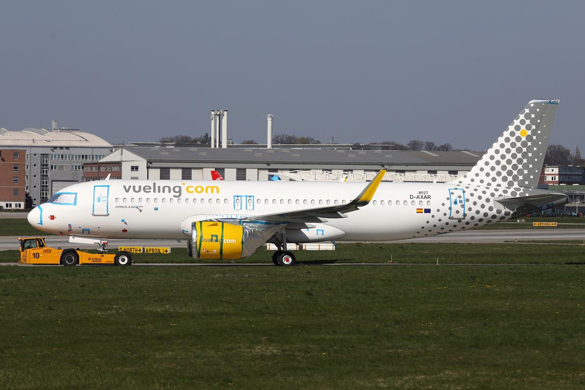 1222 A320N D-AXAR Vueling