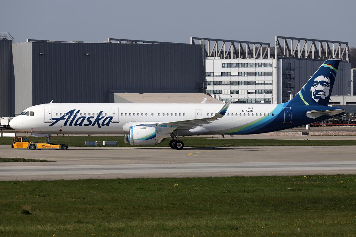 1254 A321N D-AVXO Alaska Airlines