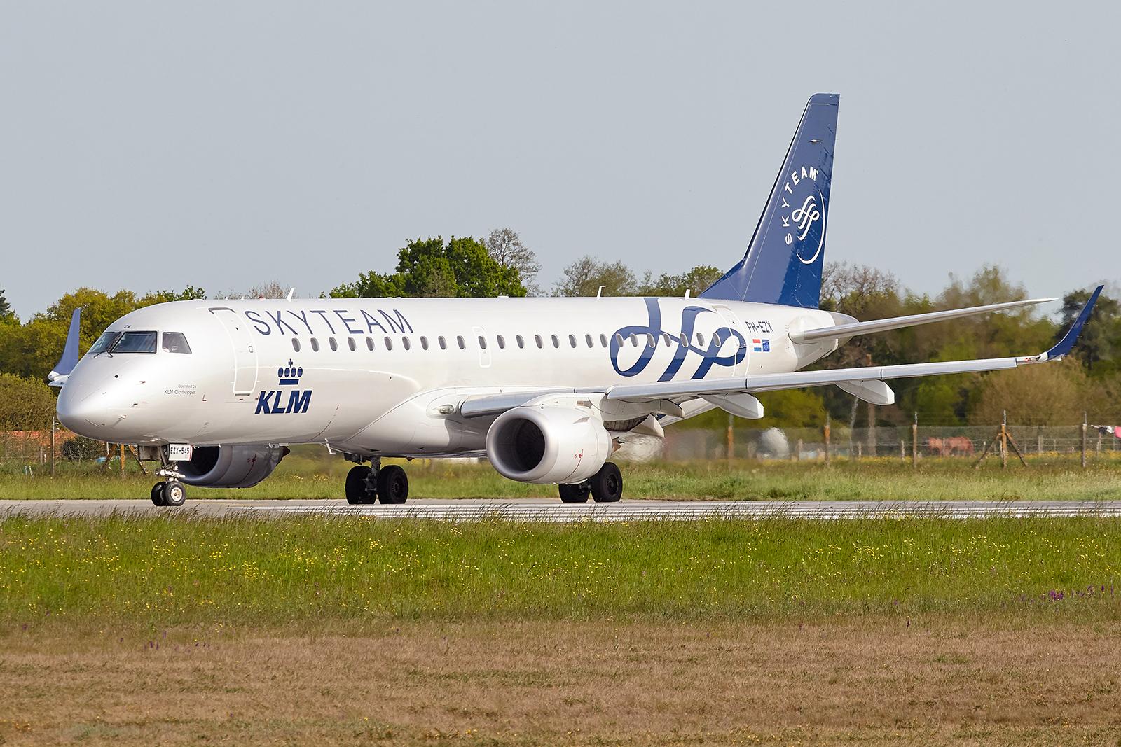 [29/08/2018] Embraer 190 (PH-EZX) KLM Cityhopper Skyteam c/s 1904231051225493216209093