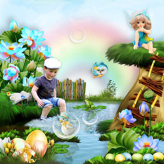 EASTER TO FAIRYWORLD - jeudi 25 avril / thursday april 25th 19042512094019599816211769