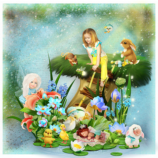 EASTER TO FAIRYWORLD - jeudi 25 avril / thursday april 25th 19042512094119599816211770