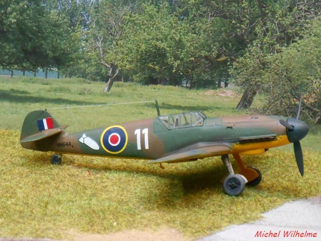 MESSERSCHMITT 109  F.4                            AZ MODEL 1:72 1904290241455625616216782