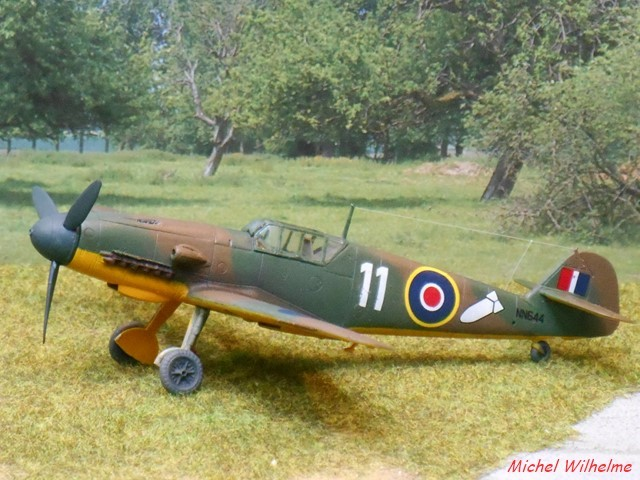 MESSERSCHMITT 109  F.4                            AZ MODEL 1:72 1904290241455625616216783