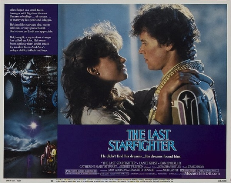 ALBUM PHOTO : STARFIGHTER (1984) dans ALBUM PHOTO 19043008402915263616217560