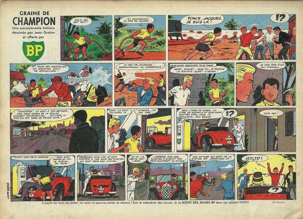 Graine de champion 10, Tintin 1962 - 23