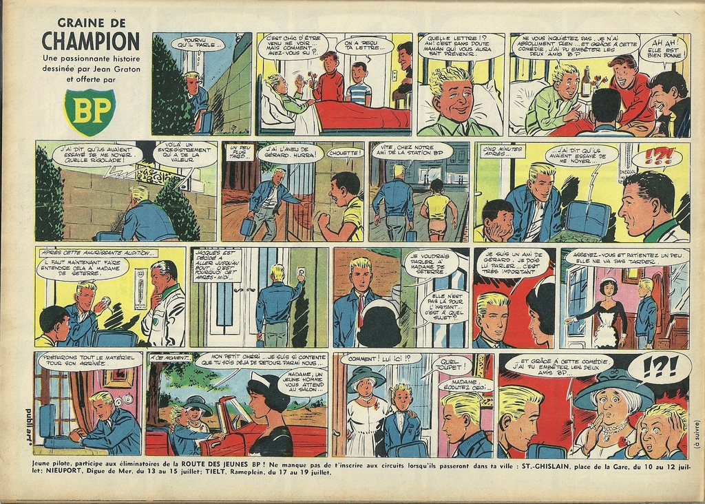 Graine de champion 15, Tintin 1962 - 28