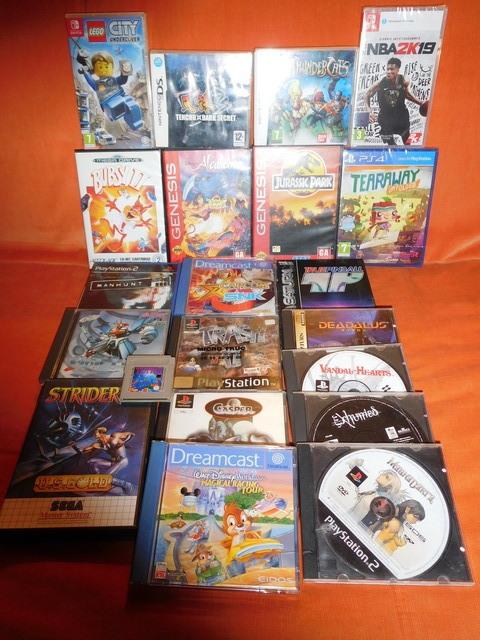 [Vds]- Baisse de prix; un MAX de SNES,MD,Switch,PS4,PS1,Saturn; du neuf, du moins neuf... 19050408040516048516223877