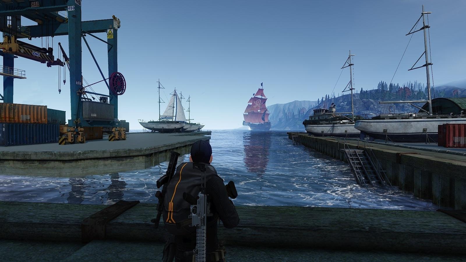 Départ boat