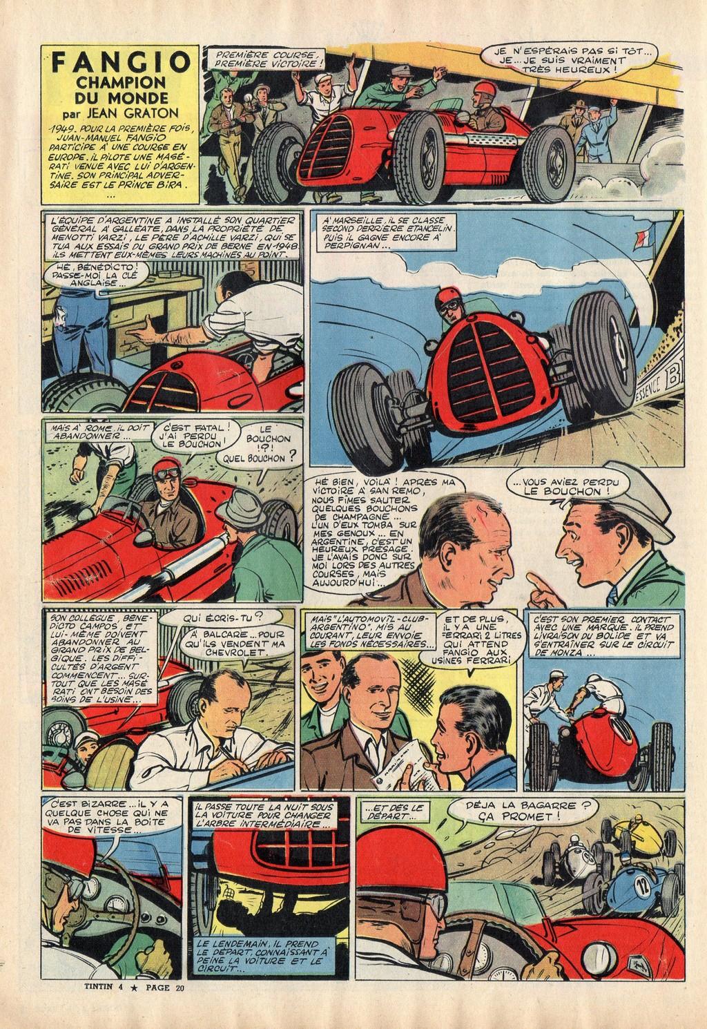 Fangio champion du monde (1)