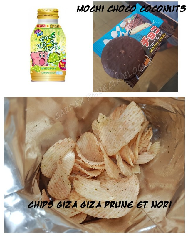 mochi et chips