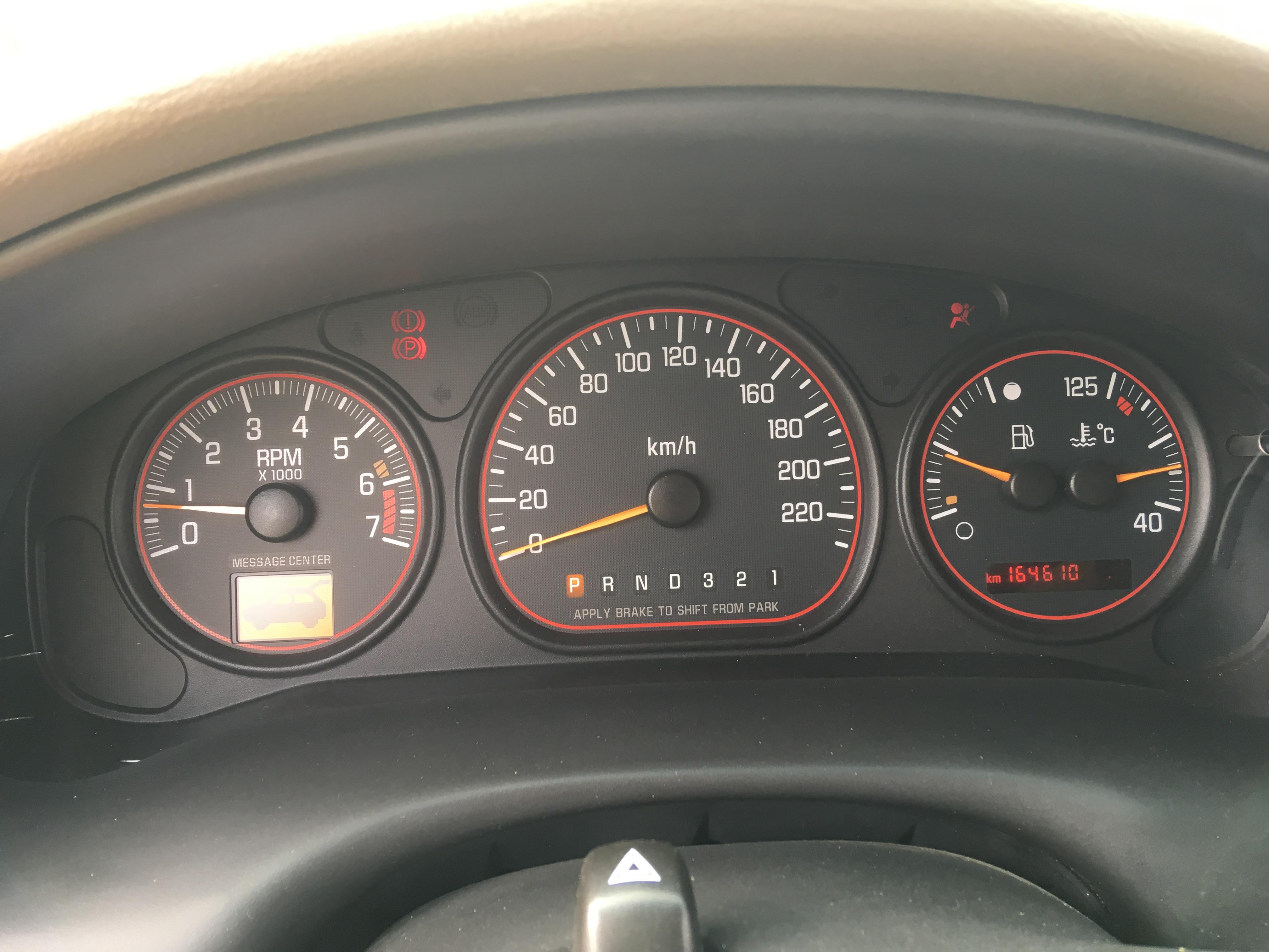 Vends Chevrolet Trans Sport 3.4 V6 de 2003 19050912252516621416230179
