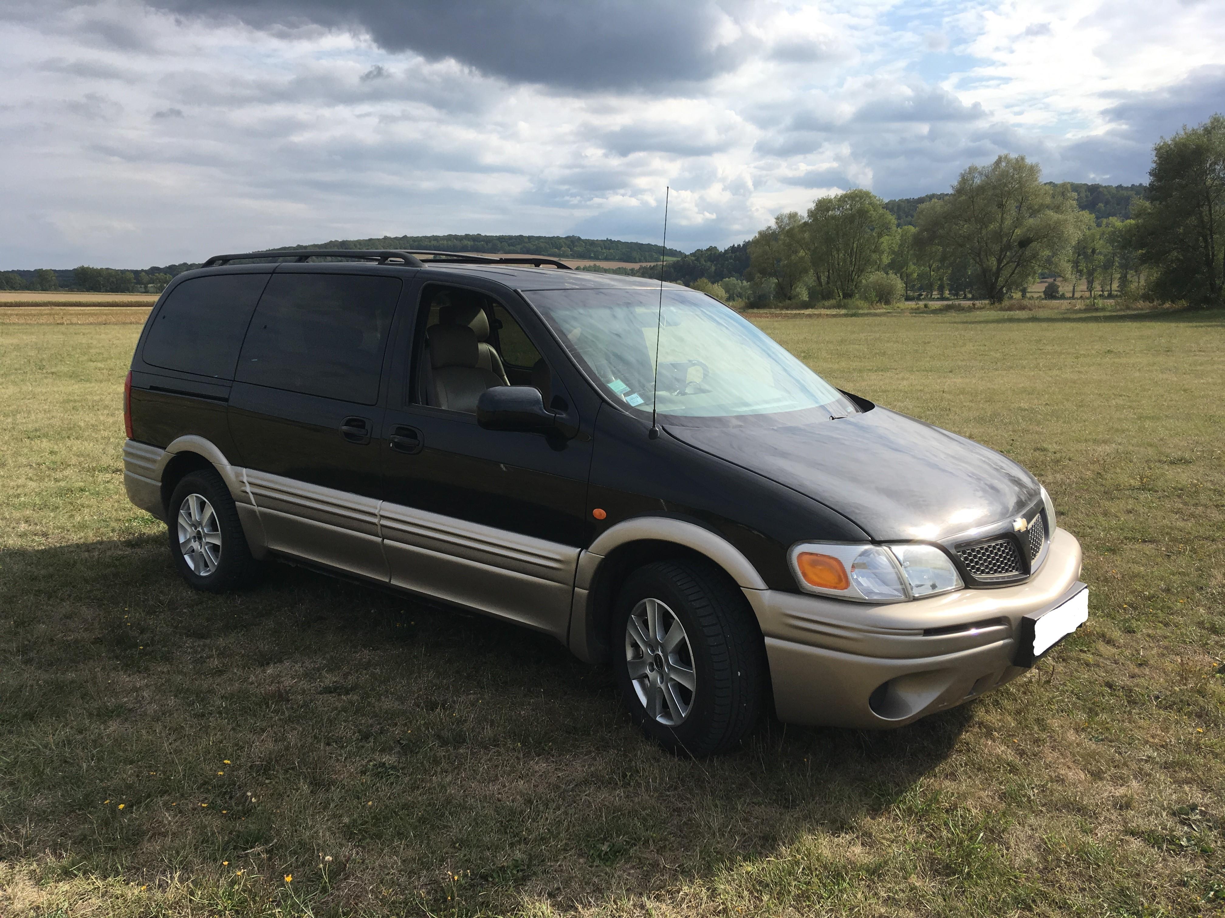 Vends Chevrolet Trans Sport 3.4 V6 de 2003 19050912451516621416230196