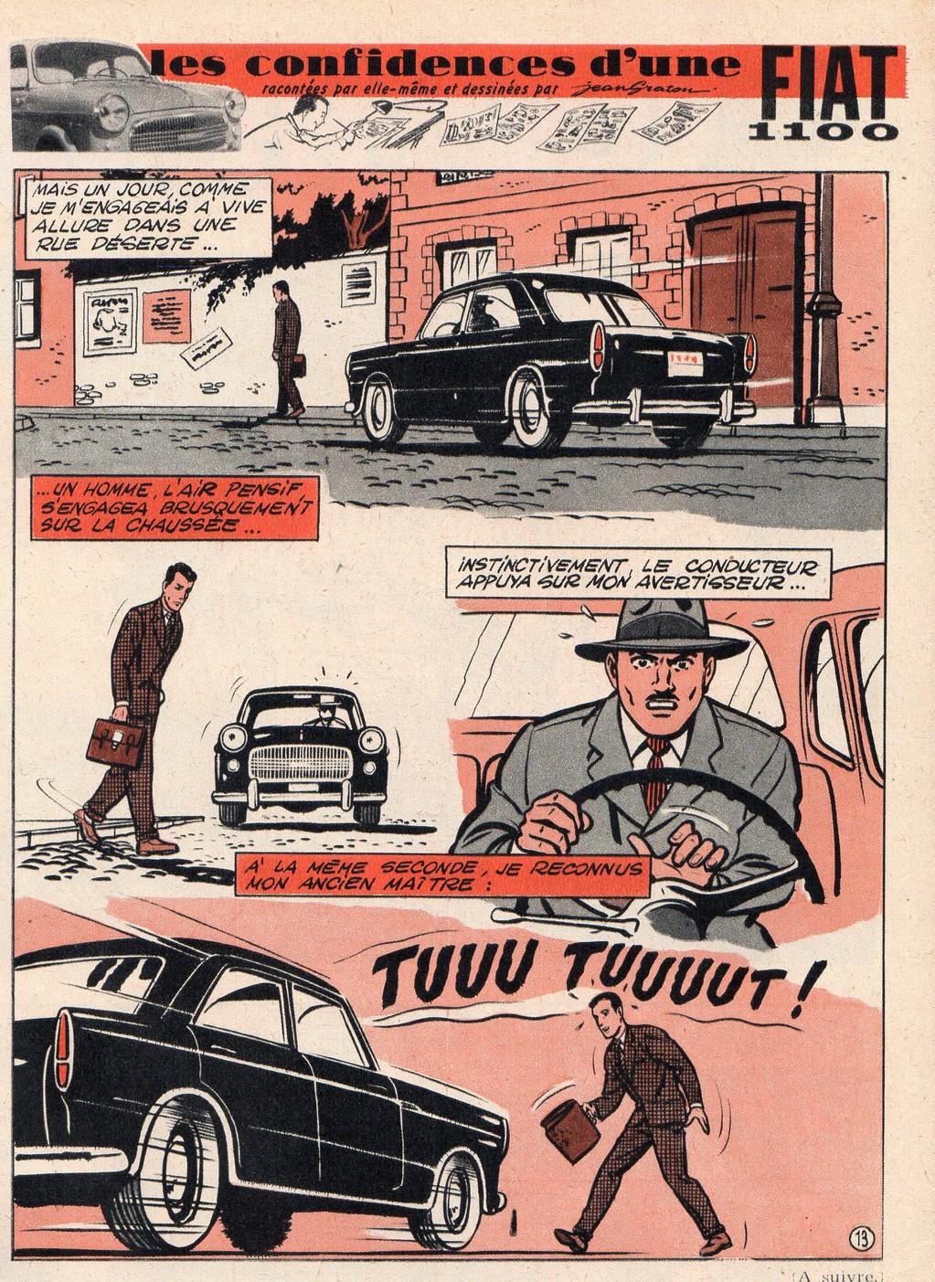 Les confidences d'une Fiat 13 - Tintin 1958 - 14