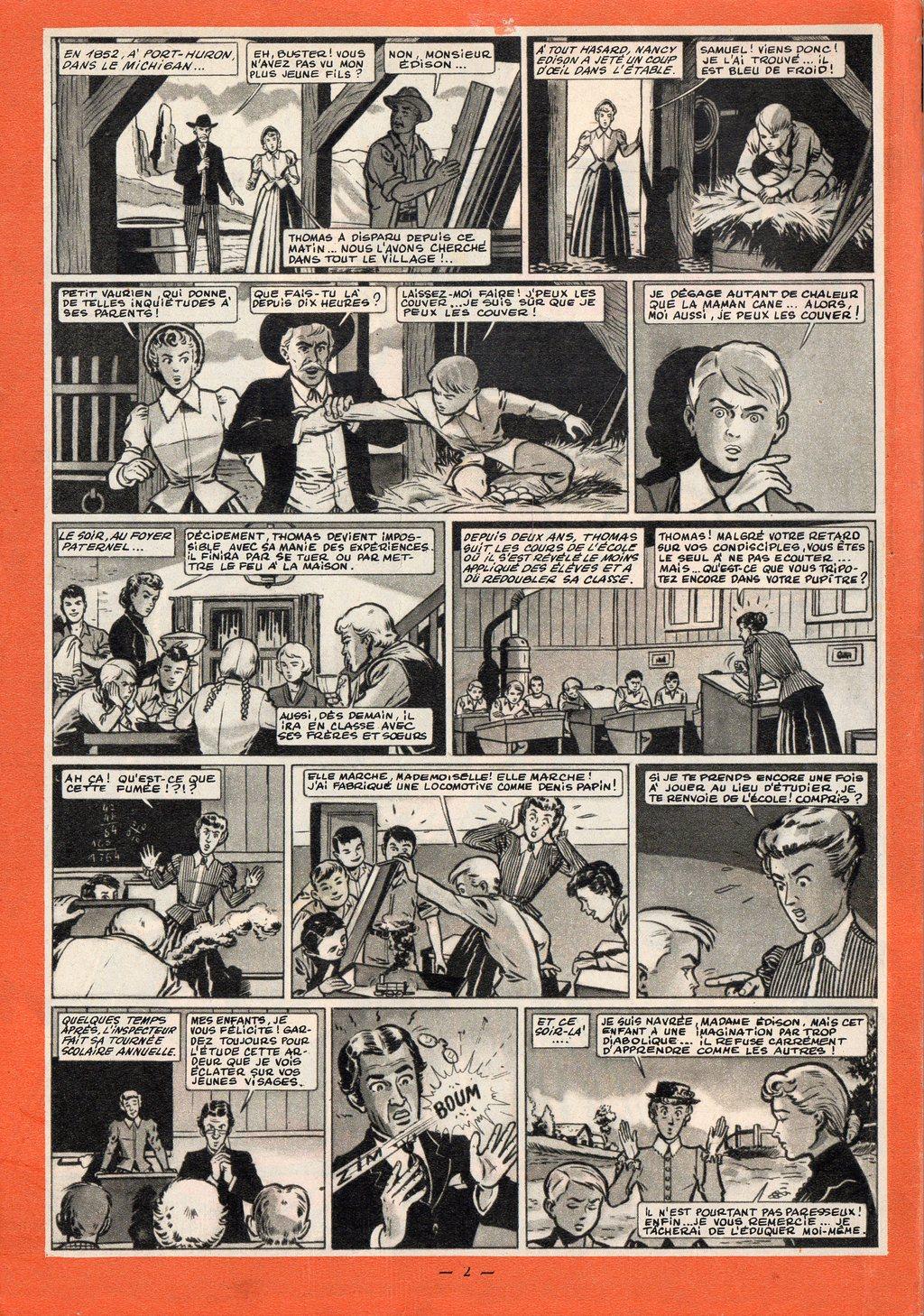 La jeunesse d'Edison (1)