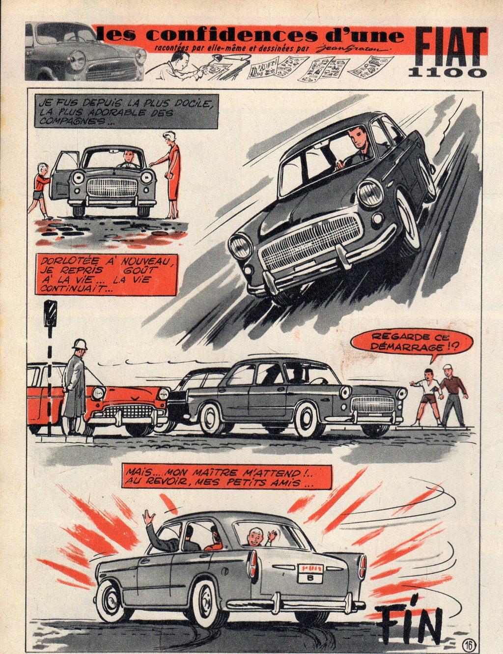 Les confidences d'une Fiat 16 - Tintin 1958 - 17