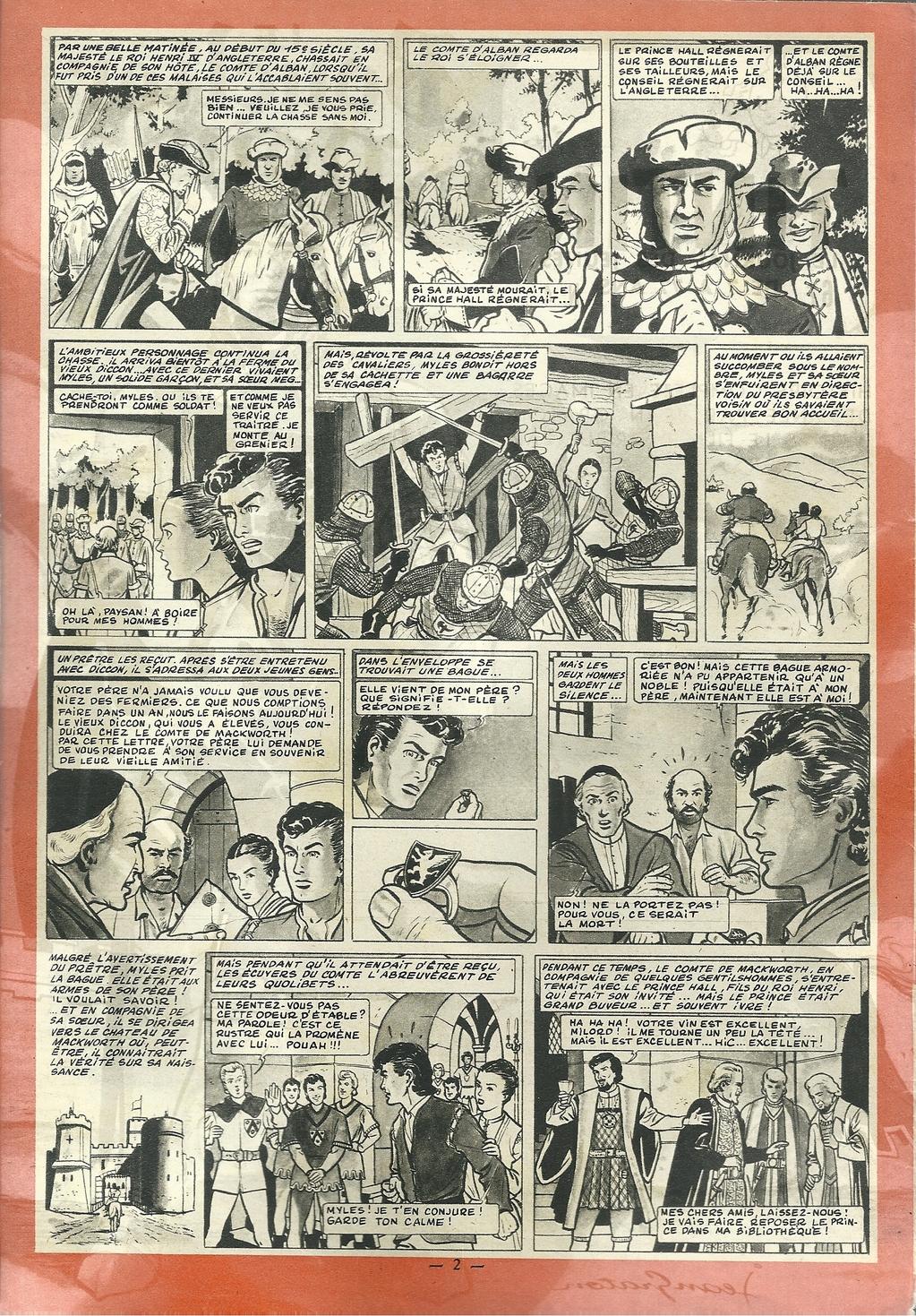 Jean Graton - Le bouclier noir 01 - Tintin 1955 - 04